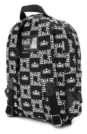 Детская рюкзак DOLCE & GABBANA черно-белого цвета, арт. EM0079/AK441 | Фото 2