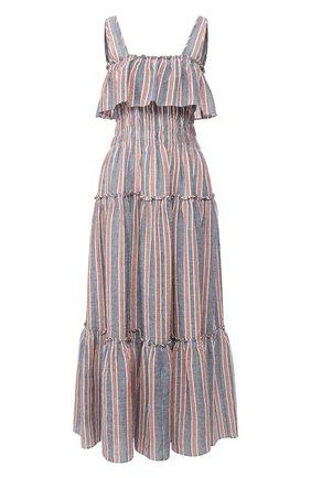 Платье из льна и хлопка | Фото №1