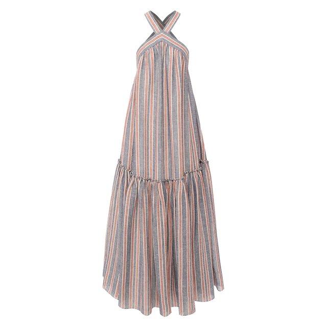 Платье из льна и хлопка Three Graces