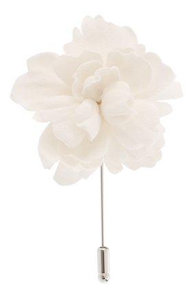 Мужская брошь FLOWER ME серого цвета, арт. PION-NS004010SM   Фото 1