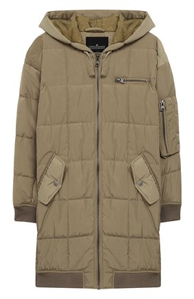 Пальто с капюшоном | Фото №1