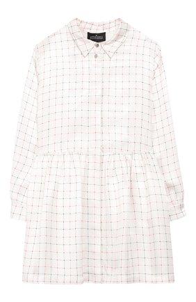 Платье-рубашка из вискозы | Фото №1