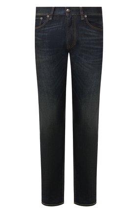 Мужские джинсы RALPH LAUREN темно-синего цвета, арт. 790531414 | Фото 1