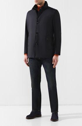 Мужские джинсы RALPH LAUREN темно-синего цвета, арт. 790531414 | Фото 2
