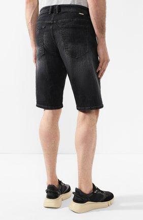 Джинсовые шорты Diesel темно-серые | Фото №4