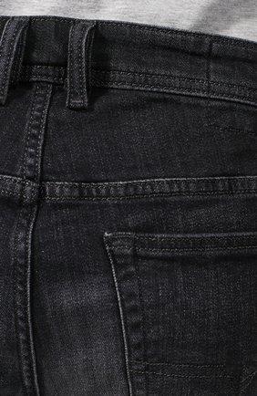Джинсовые шорты Diesel темно-серые | Фото №5