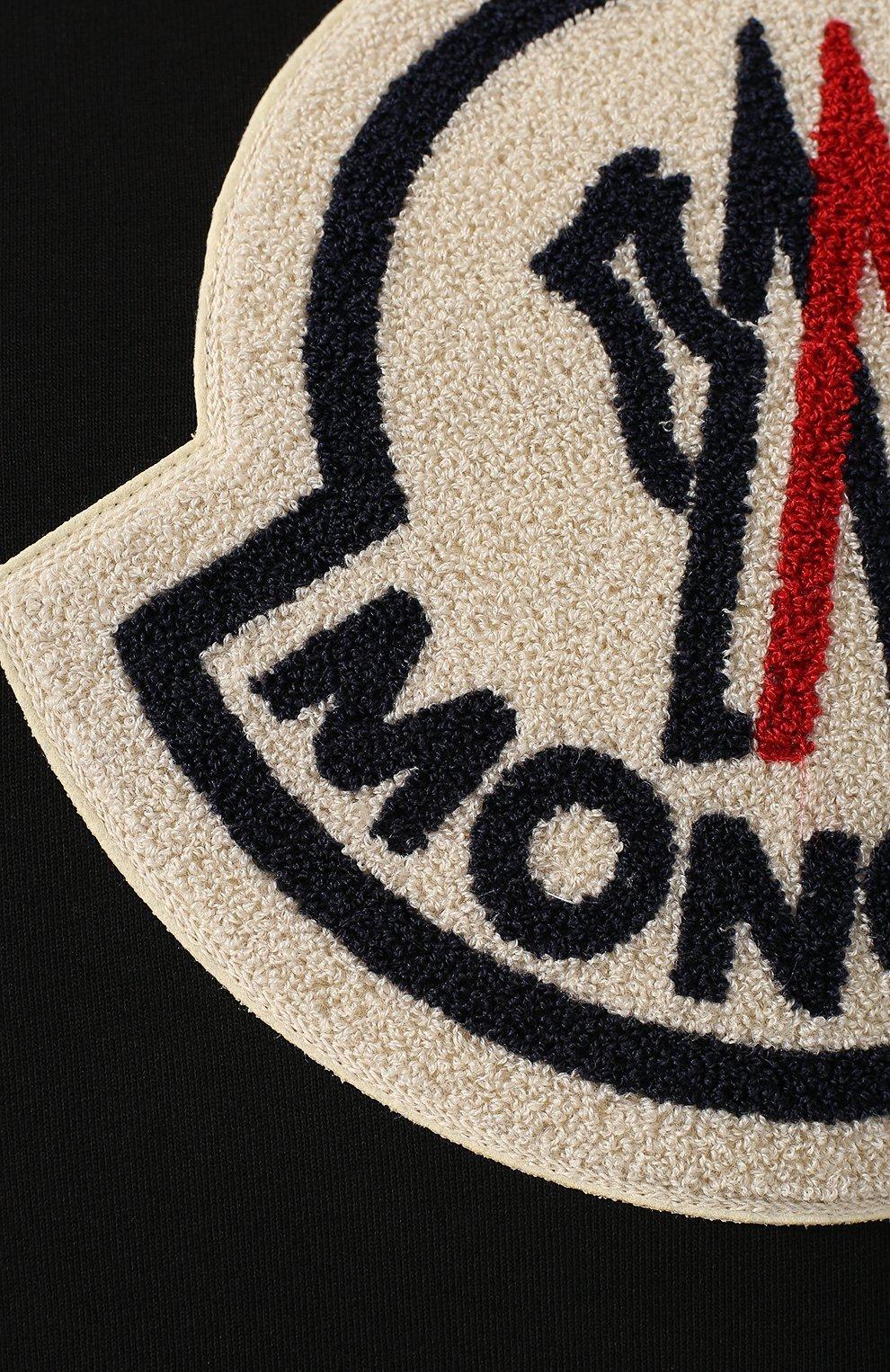 Хлопковый свитшот 2 Moncler 1952 | Фото №5