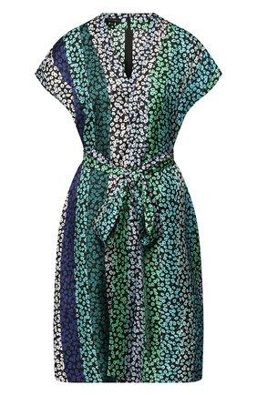 Женское шелковое платье ESCADA зеленого цвета, арт. 5029284 | Фото 1