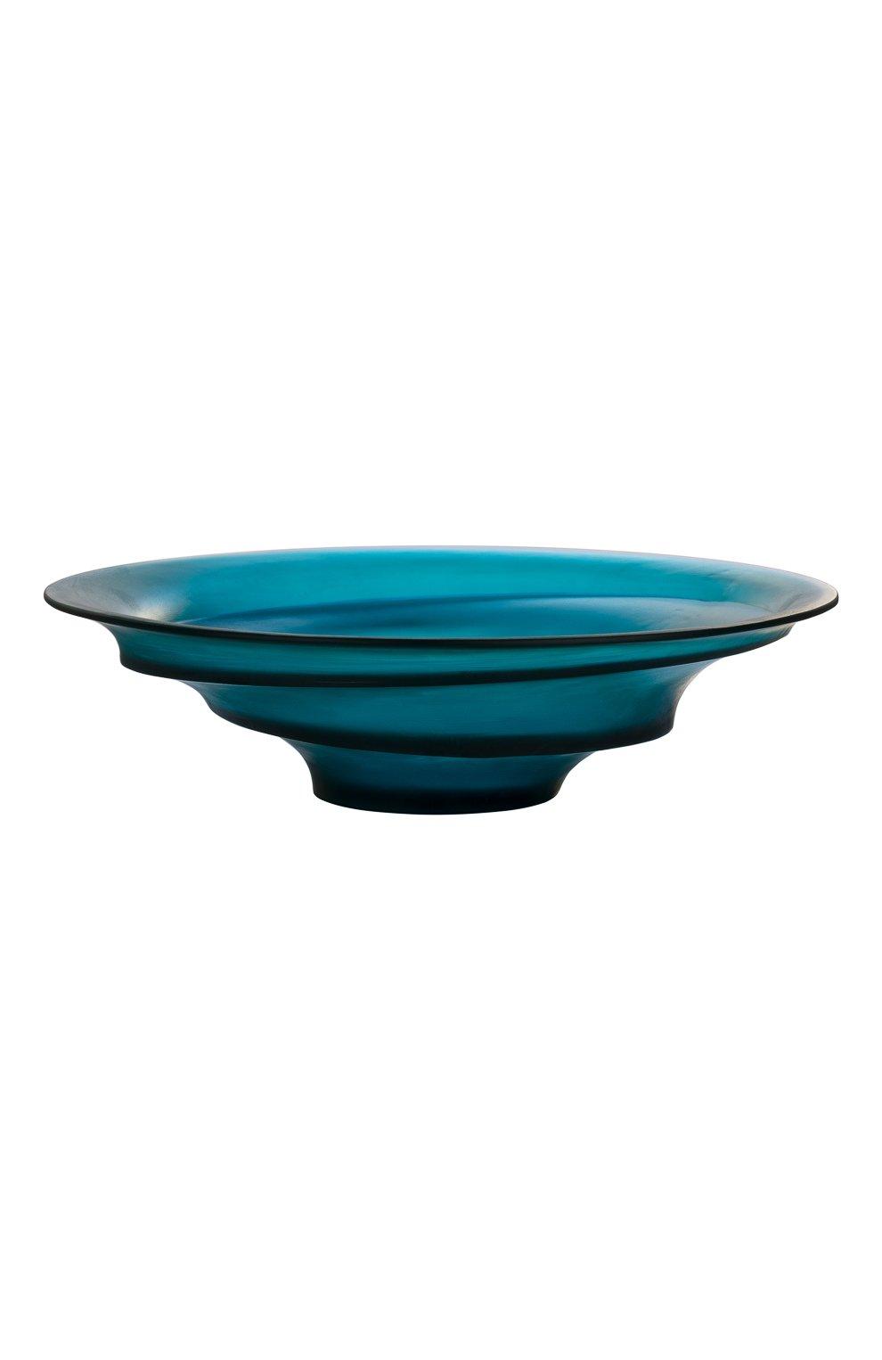 Мужского блюдо на центр стола sand DAUM синего цвета, арт. 05591 | Фото 1