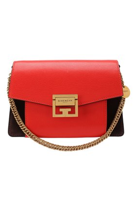 Женская сумка gv3 small GIVENCHY красного цвета, арт. BB501CB033 | Фото 1