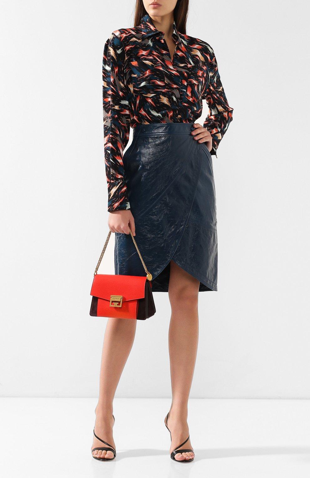 Женская сумка gv3 small GIVENCHY красного цвета, арт. BB501CB033 | Фото 2