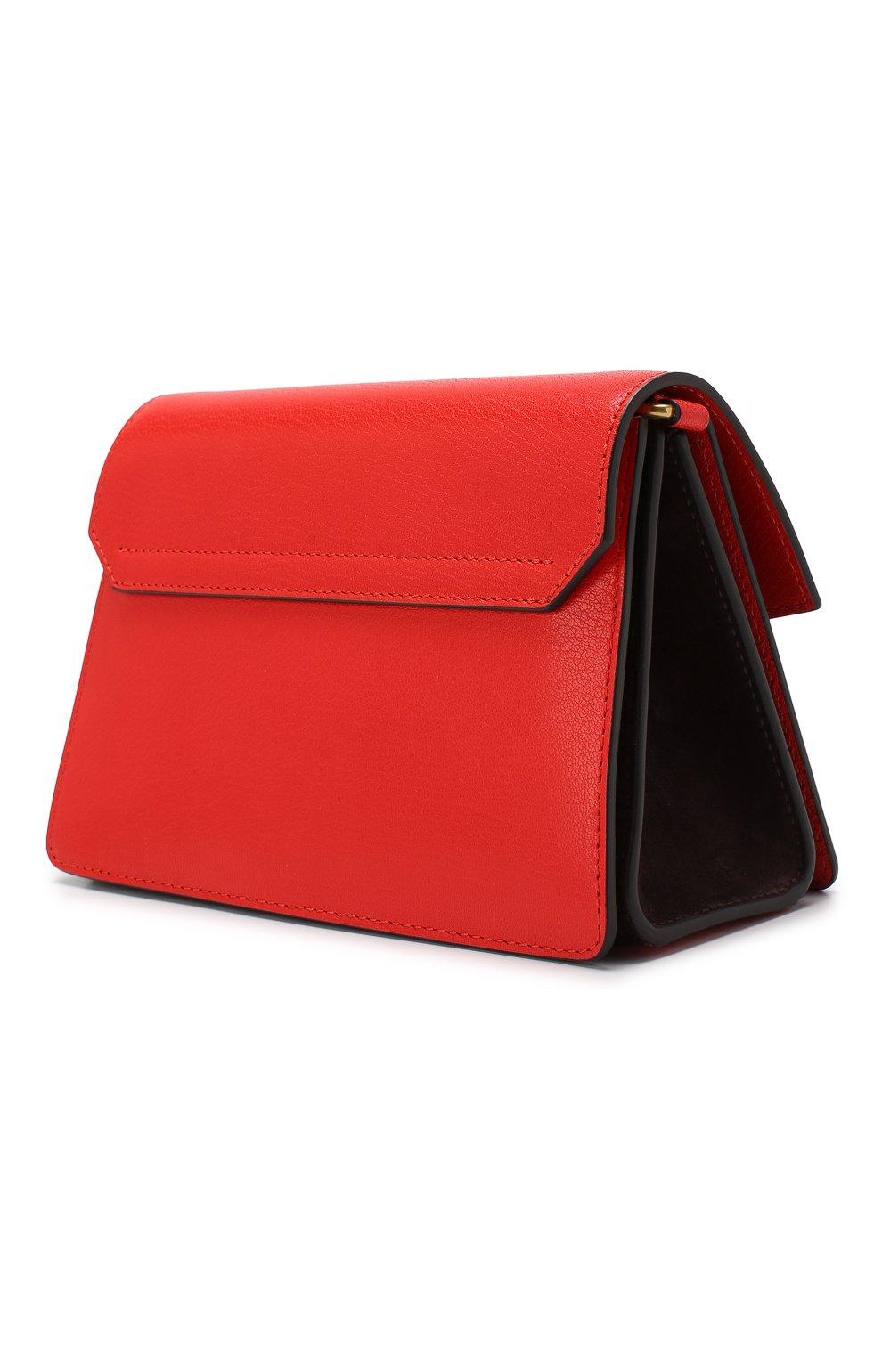 Женская сумка gv3 small GIVENCHY красного цвета, арт. BB501CB033 | Фото 3