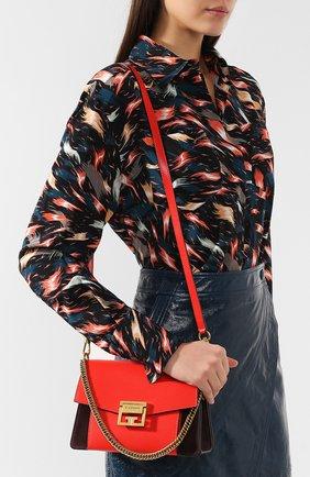 Женская сумка gv3 small GIVENCHY красного цвета, арт. BB501CB033 | Фото 5