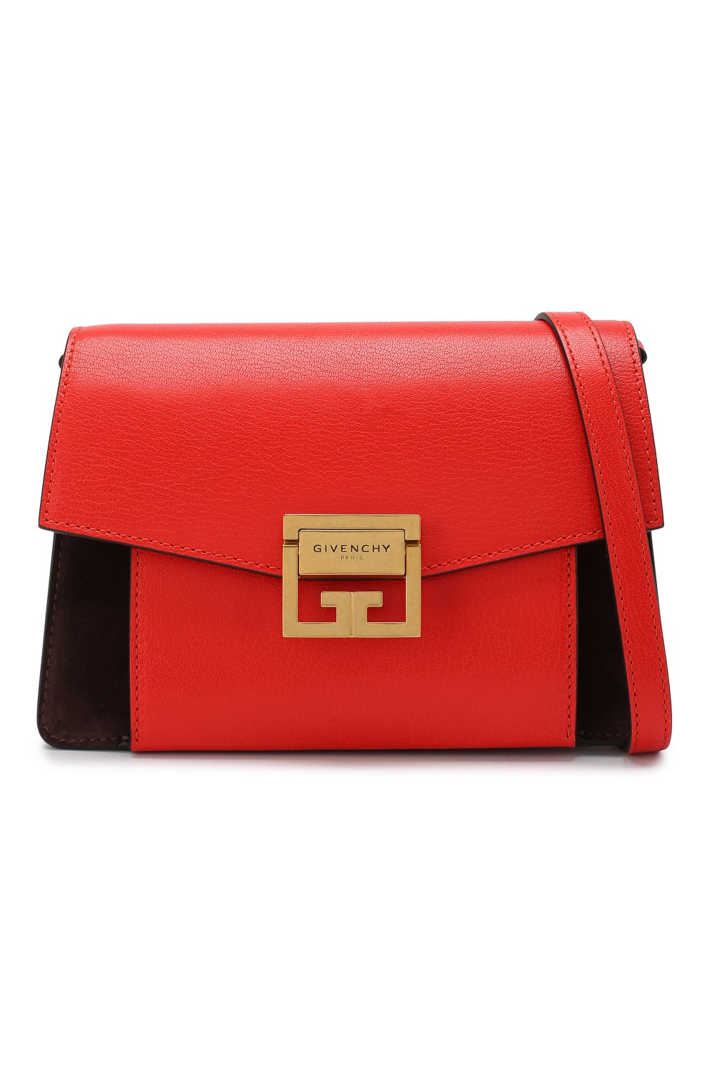 Женская сумка gv3 small GIVENCHY красного цвета, арт. BB501CB033 | Фото 6