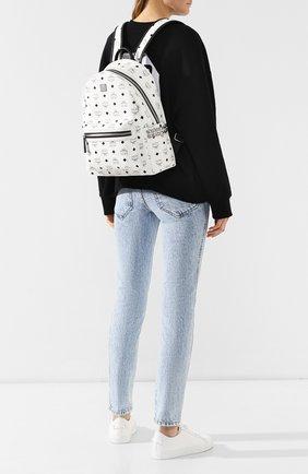 Женский рюкзак stark small MCM белого цвета, арт. MMK 8AVE99 | Фото 2