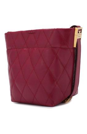 Сумка GV Bucket mini Givenchy фиолетовая цвета | Фото №3