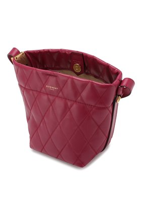 Сумка GV Bucket mini Givenchy фиолетовая цвета | Фото №4