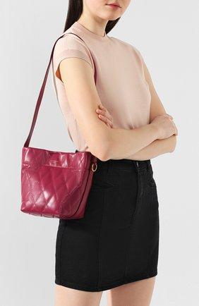 Сумка GV Bucket mini Givenchy фиолетовая цвета | Фото №5