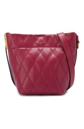 Сумка GV Bucket mini Givenchy фиолетовая цвета | Фото №6