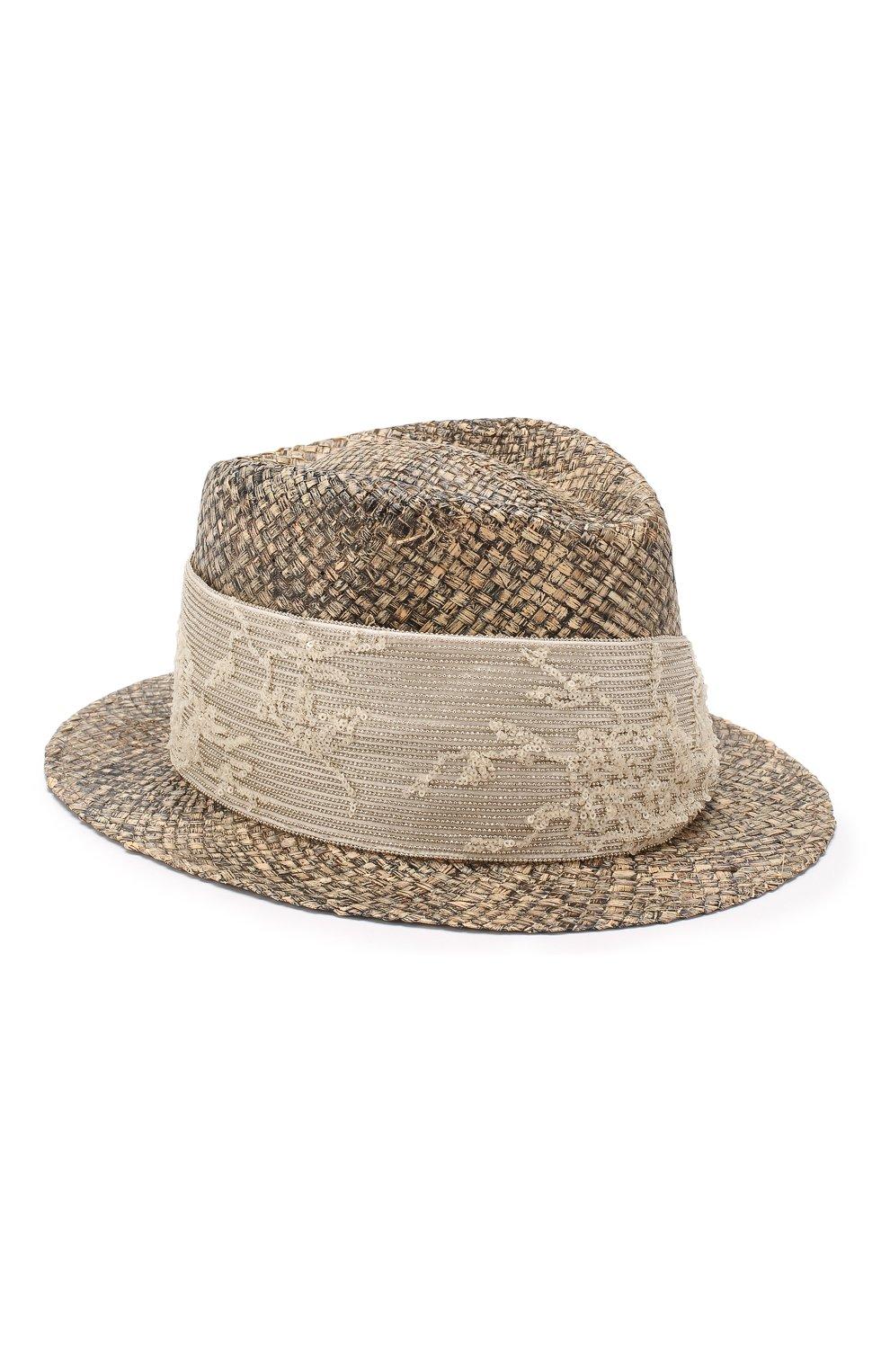 be265263c69b Шляпа-федора из рафии