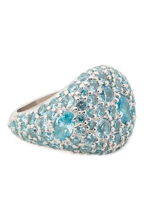 Женское кольцо darina LEVASHOVAELAGINA голубого цвета, арт. le/r | Фото 1