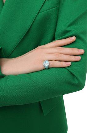 Женское кольцо darina LEVASHOVAELAGINA голубого цвета, арт. le/r | Фото 2