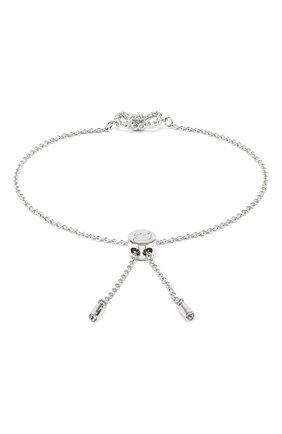 Женский браслет lifelong bow SWAROVSKI серебряного цвета, арт. 5469983 | Фото 2