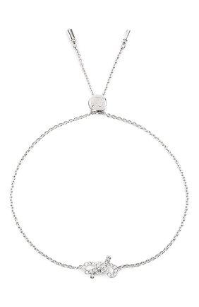 Женский браслет lifelong bow SWAROVSKI серебряного цвета, арт. 5469983 | Фото 4