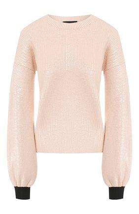 Пуловер из смеси вискозы и шерсти | Фото №1