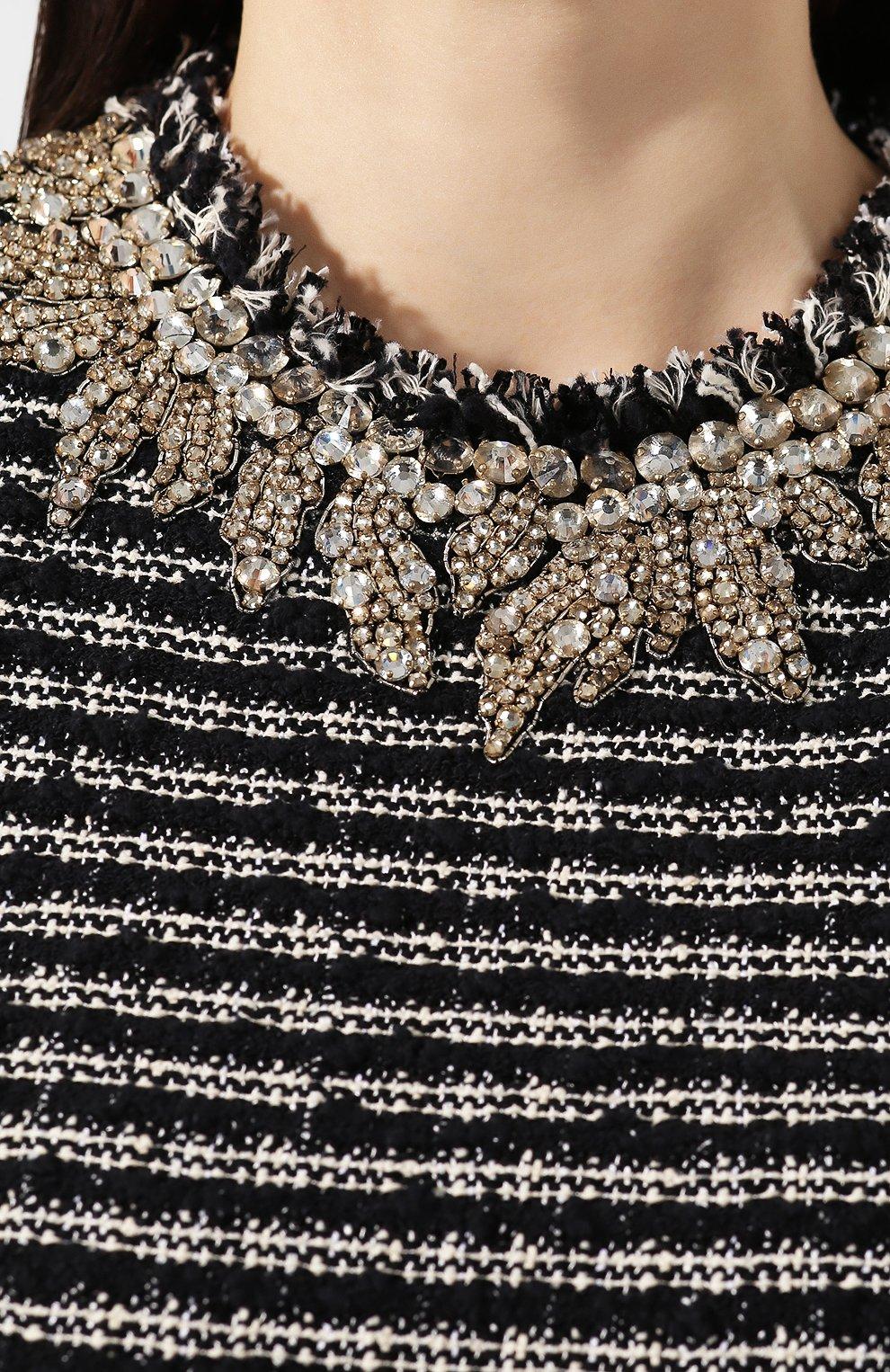 Платье из смеси хлопка и вискозы | Фото №5