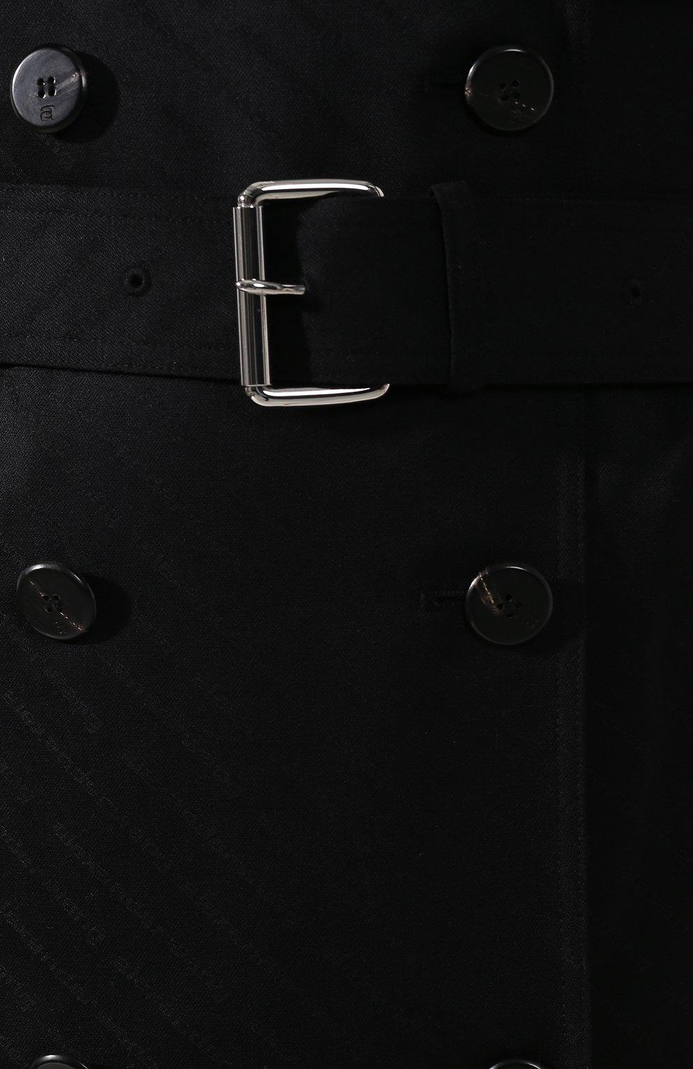 Шерстяное пальто   Фото №5