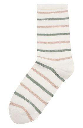 Женские хлопковые носки ROYALTIES зеленого цвета, арт. C0C0/0RIGAN | Фото 1