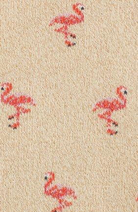Женские носки ROYALTIES золотого цвета, арт. FLAMING0/0R | Фото 2