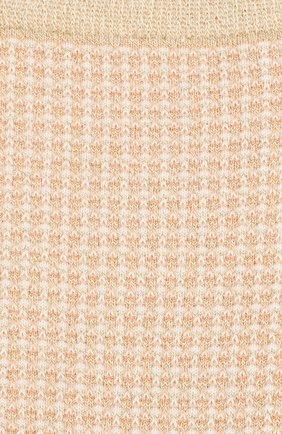 Женские носки ROYALTIES золотого цвета, арт. H0NEY/0R | Фото 2