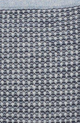 Женские носки ROYALTIES голубого цвета, арт. H0NEY/AZUR | Фото 2