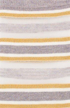 Женские носки ROYALTIES бежевого цвета, арт. RUBAN/AMETHYSTE | Фото 2