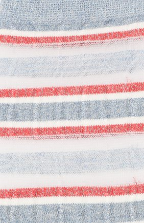 Женские носки ROYALTIES голубого цвета, арт. RUBAN/AZUR | Фото 2
