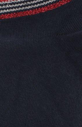 Женские хлопковые носки ROYALTIES темно-синего цвета, арт. T0M/MARINE | Фото 2