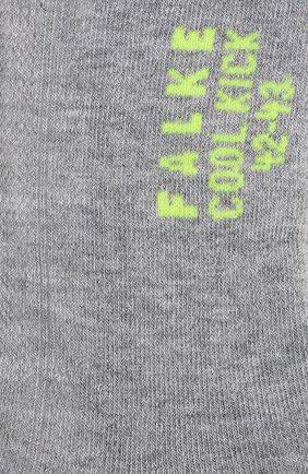 Мужские носки FALKE светло-серого цвета, арт. 16609 | Фото 2