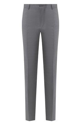Мужской шерстяные брюки ZILLI серого цвета, арт. M0R-40-38N-56031/0001 | Фото 1