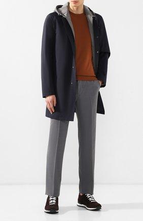 Мужской шерстяные брюки ZILLI серого цвета, арт. M0R-40-38N-56031/0001 | Фото 2