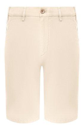 Мужские хлопковые шорты LORO PIANA светло-бежевого цвета, арт. FAE8348 | Фото 1