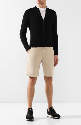 Мужские хлопковые шорты LORO PIANA светло-бежевого цвета, арт. FAE8348 | Фото 2