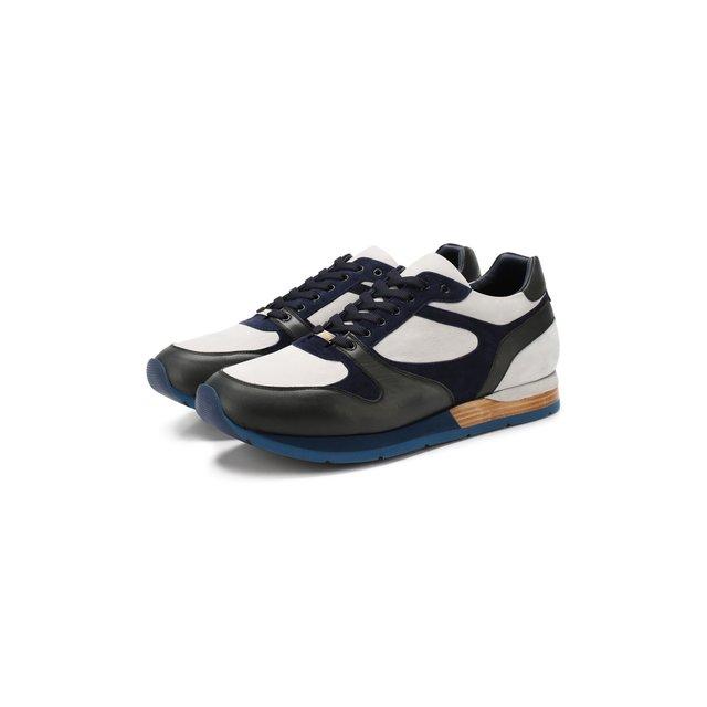 Кожаные кроссовки Zilli — Кожаные кроссовки