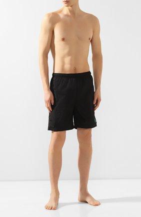 Детского плавки-шорты 2 moncler 1952 MONCLER GENIUS черного цвета, арт. E1-091-13504-05-54155 | Фото 2