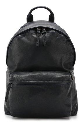 Мужской кожаный рюкзак OFFICINE CREATIVE темно-синего цвета, арт. 0C PACK/IGNIS   Фото 1