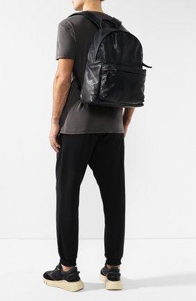 Мужской кожаный рюкзак OFFICINE CREATIVE темно-синего цвета, арт. 0C PACK/IGNIS   Фото 2