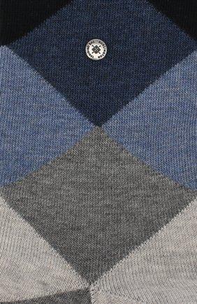 Мужские хлопковые носки BURLINGTON темно-синего цвета, арт. 20942 | Фото 2