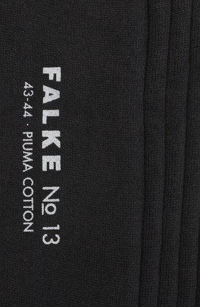 Мужские хлопковые носки FALKE серого цвета, арт. 14669 | Фото 2
