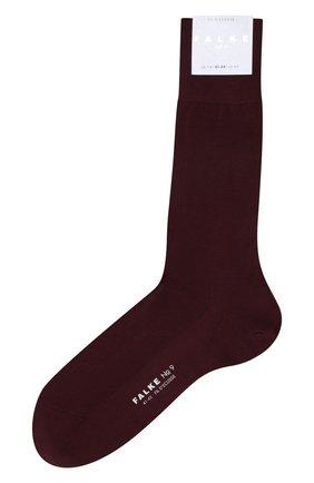 Мужские хлопковые носки FALKE бордового цвета, арт. 14651 | Фото 1